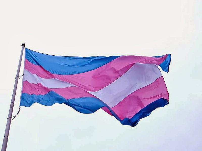 Bandeira do orguho trans, criada em 1999 pela ativista Monica F. Helms