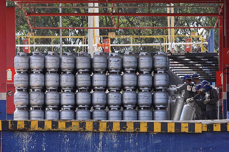 Distrito Federal recebeu uma grande quantidade de gás de cozinha