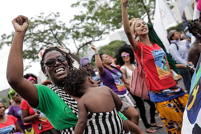 A resistência, a luta pelo direito à cidade, tem como protagonista a mulher preta, que está na linha de frente