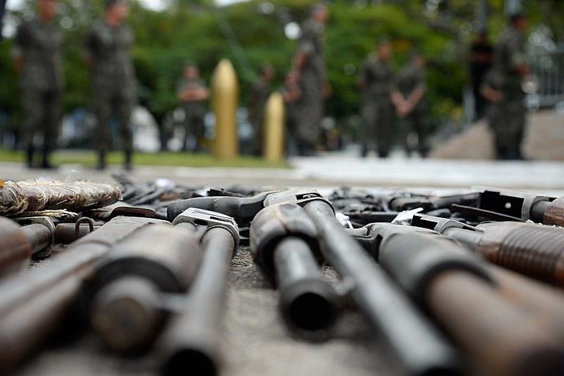 As mulheres mais da metade(59%) das vítimas de reincidência de agressão com arma de fogo