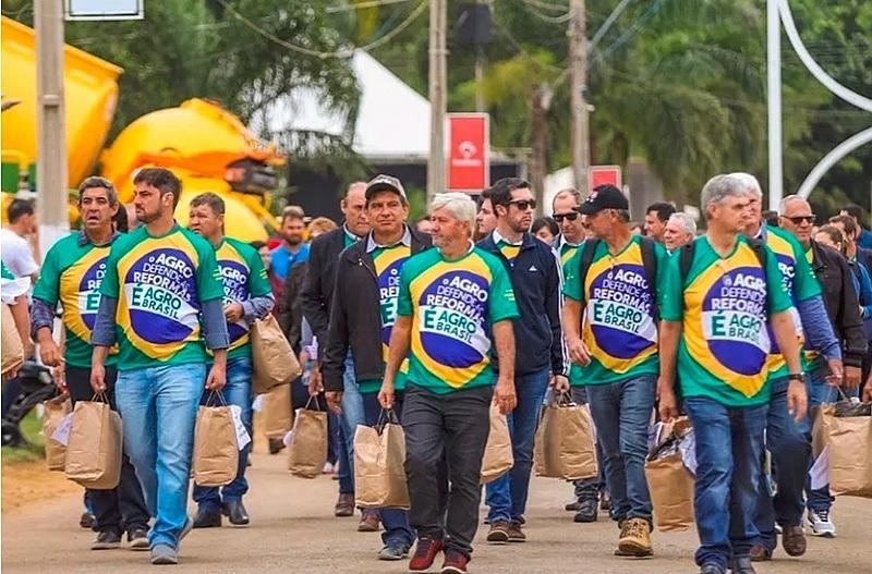 Lideranças de 76 associações do agronegócio lançaram no último dia 16 de maio o Movimento Brasil Verde e Amarelo