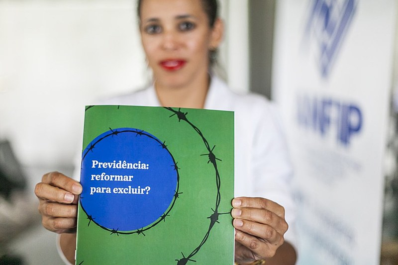 Publicação contesta o conteúdo da reforma da Previdência