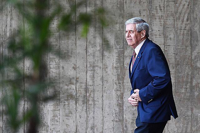 General Augusto Heleno, futuro ministro jefe del Gabinete de Seguridad Institucional (GSI) del gobierno de Jair Bolsonaro