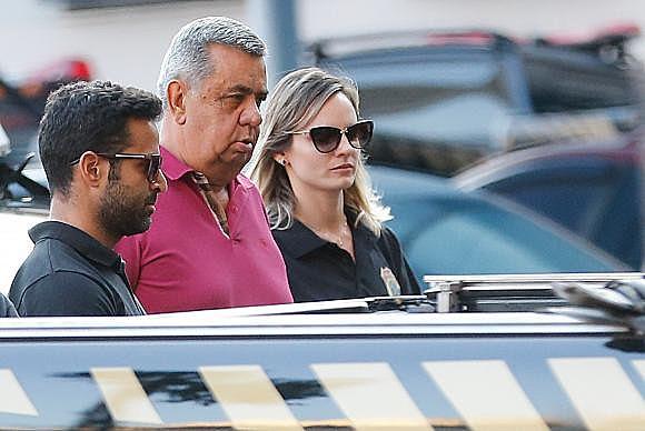 O presidente da Alerj, Jorge Picciani, se entregou à Polícia Federal após ter prisão decretada