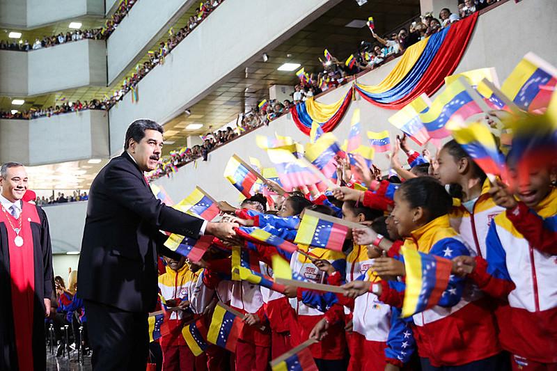 Nicolás Maduro foi reeleito em maio de 2018