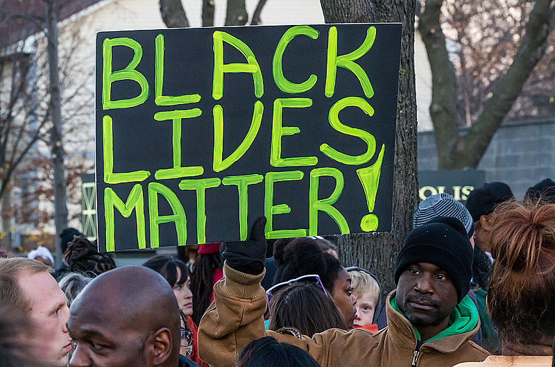 Protesto do Black Lives Matter
