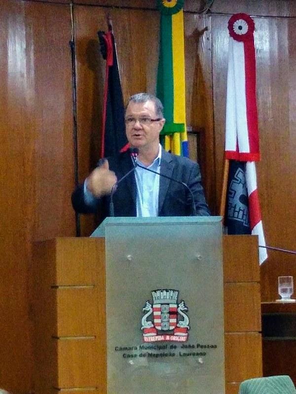 Carlos Gabas em João Pessoa (PB).