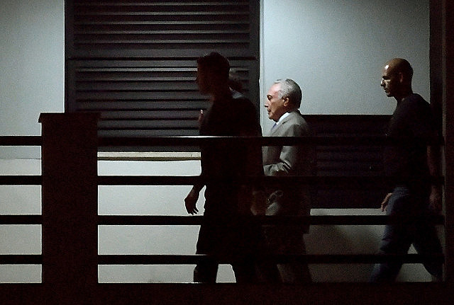 Court orders release of Brazilian ex-president Michel Temer, who was arrested on Thursday