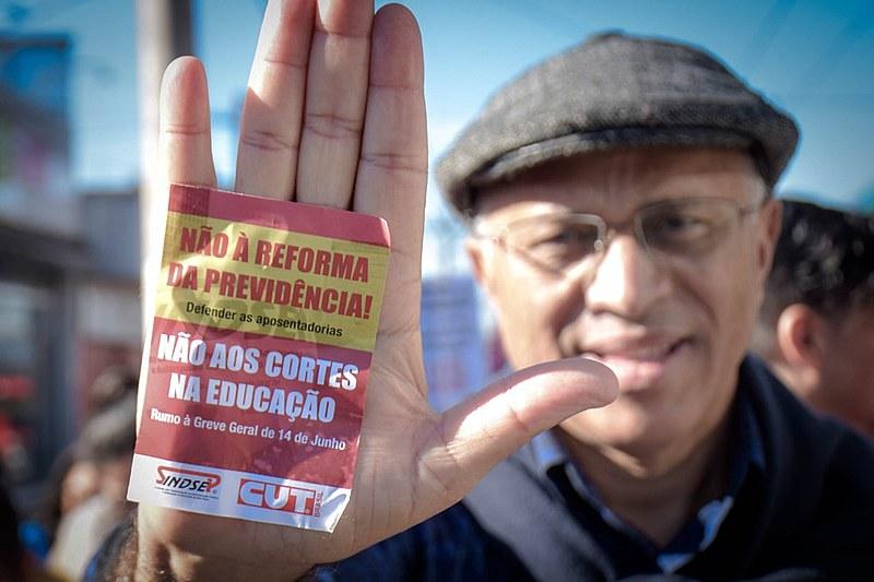Greve Geral de 14 de junho contra a reforma da Previdência e outros desmontes do governo de Jair Bolsonaro (PSL)