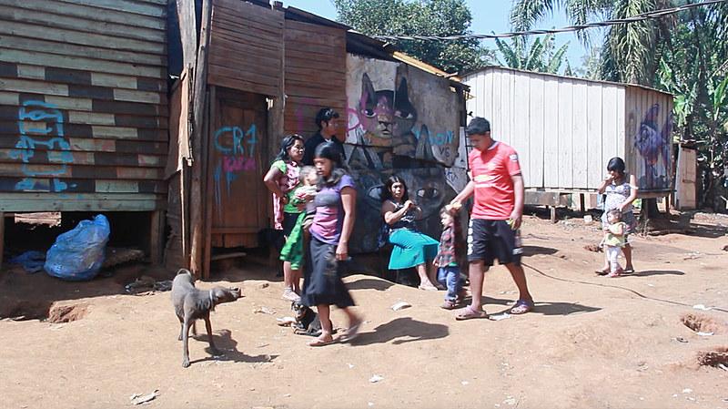 Situação dos indígenas é de precariedade na aldeia Jaraguá