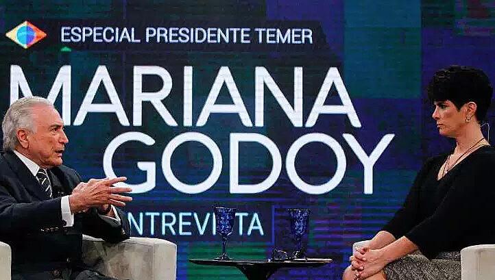 O presidente golpista Michel Temer tem dado uma série de entrevistas para promover a reforma da Previdência