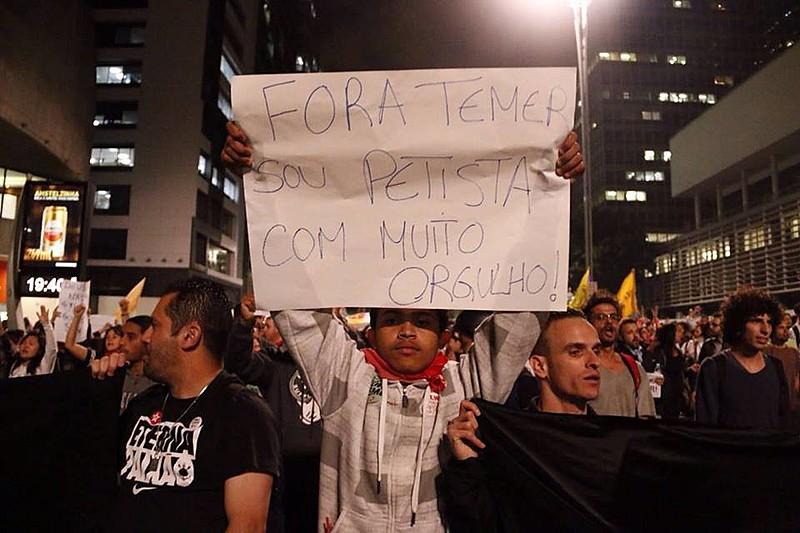 A truculência policial, que deixou inúmeros feridos e cegou uma estudante em São Paulo (SP) nesta quarta-feira (31)