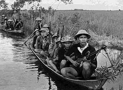 O conflito estendeu-se por oito anos, organizado pelo Viet Minh e tendo como um dos principais líderes Ho Chi Minh