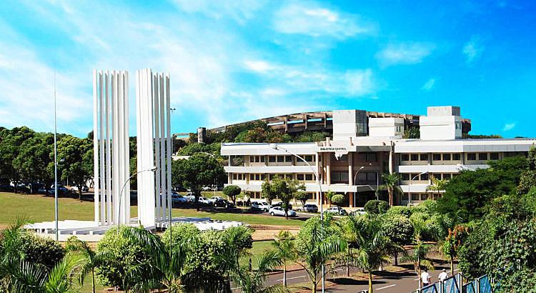 Campus da Universidade Federal de Mato Grosso do Sul, cujo bloqueio de recursos chega a 43%
