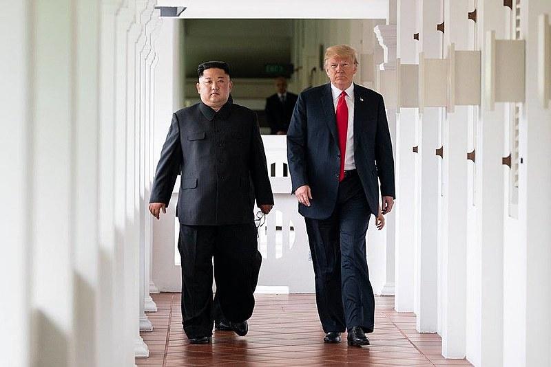 Foi a primeira vez que os líderes dos dois países se encontraram