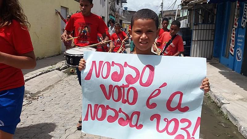 Brasília Teimosa confirma a aprovação de Lula para a eleição de 2018, caso ele consiga se candidatar.