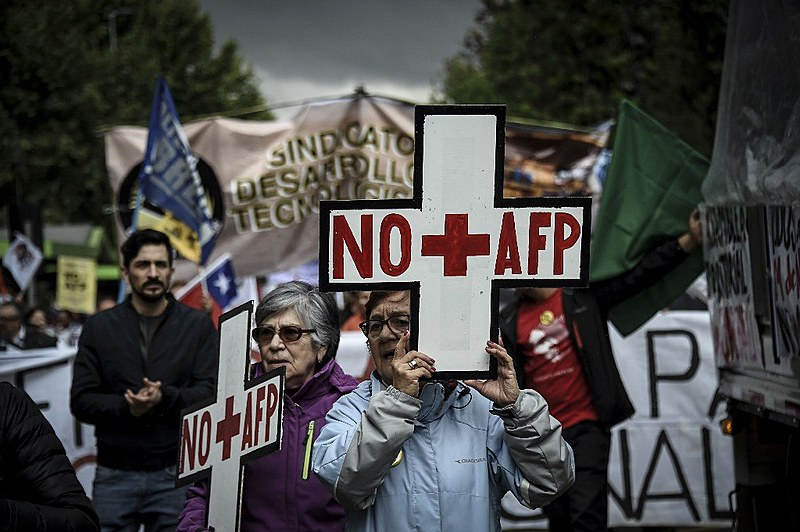 Além de Santiado de Chile, outras 56 cidades se somaram à jornada de luta