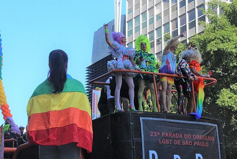 A 23ª Parada LGBT reuniu cerca de 3 milhões de pessoas na avenida Paulista, região central de São Paulo, no dia 23 de junho