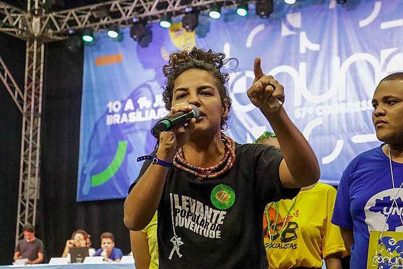 Em entrevista ao Brasil de Fato Pernambuco, Rosa fez uma análise das últimas mobilizações da UNE