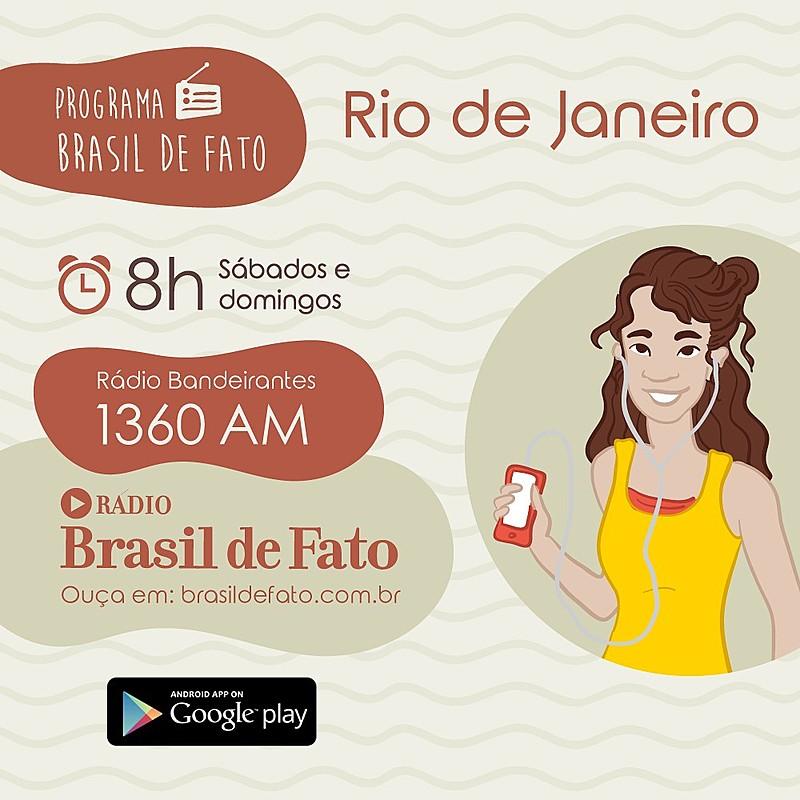 Programa vai ao ar todos os sábados, às 8 horas, pela Rádio Bandeirantes 1360 AM e também pela Rádio Web Brasil de Fato em tempo real