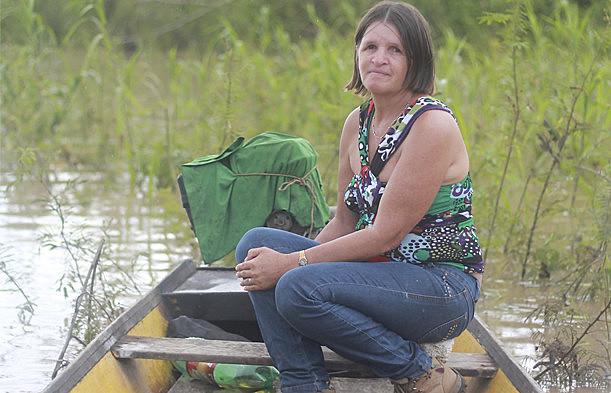 A pescadora era conhecida pela luta em defesa das populações atingidas pela Usina da Jirau