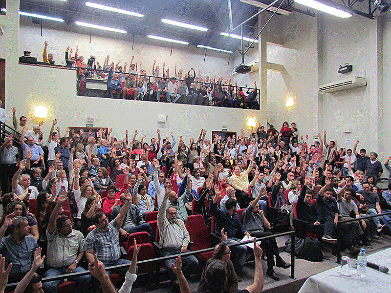 Assembleia Geral acata proposta da Comissão de Mobilização e aprova suspensão da greve de docentes na Unicamp