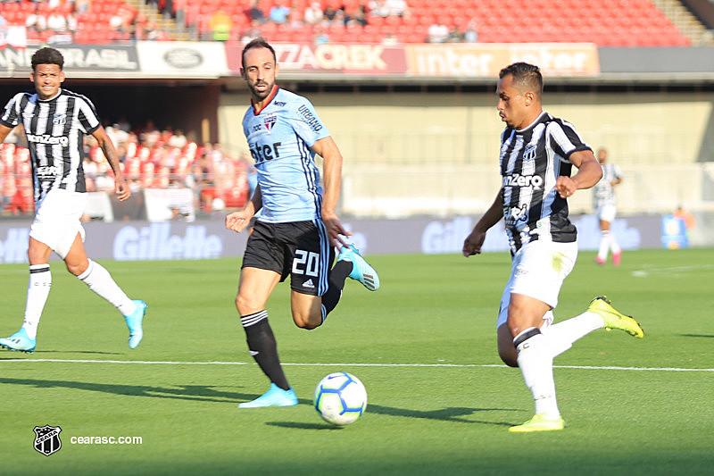 Jogo entre Ceará e São Paulo pela 15ª rodada do Brasileirão foi intensamente comentado na mídia esportiva antes e depois de sua realização.