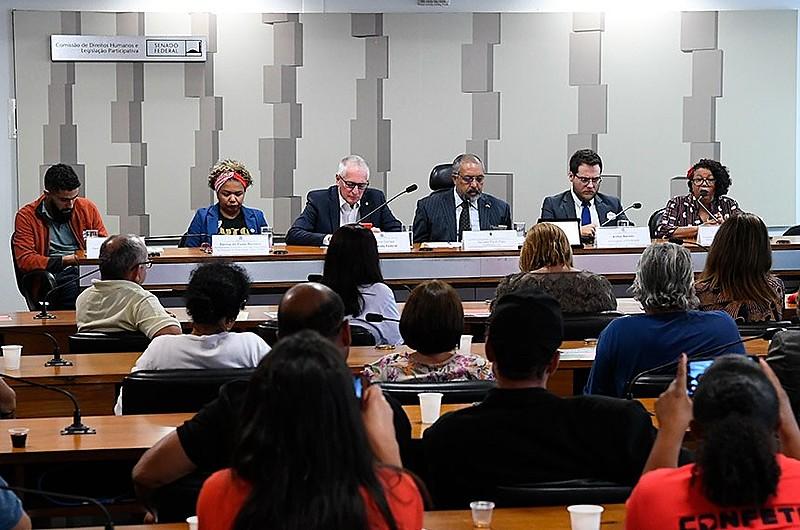 Audiência na CDH do Senado teve como destaques críticas ao modelo fiscal proposta pela PEC 133, um dos braços da reforma da Previdência