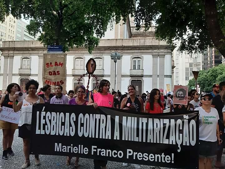 Denúncia contra violência policial é bandeira central na luta feminista e antirracista