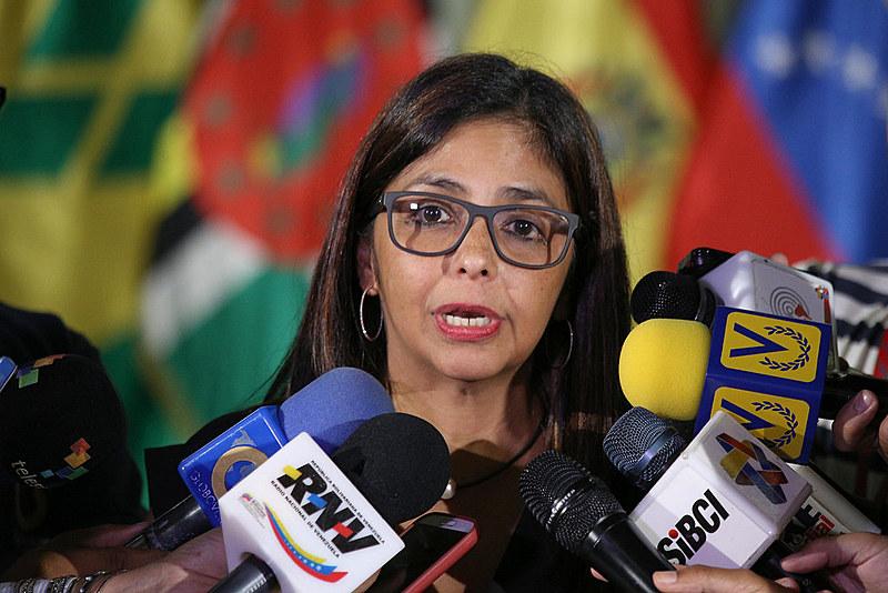 Delcy Rodriguez, chanceler venezuelana, também classificou como golpe de Estado o processo de impeachment contra Dilma