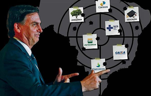 Após previdência, patrimônio do povo brasileiro está no alvo do capitão reformado do Exército
