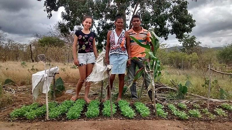 Diogo produz frutas, polpas e hortaliças em Cachoeira do Guilherme, Iguaraci.