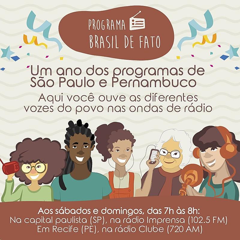 No dia 4 de março foram ao ar os primeiros programas de rádio do Brasil de Fato