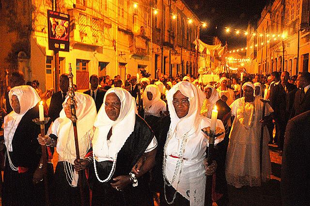 Festa de Nossa Senhora da Boa Morte resgata a importância da organização das mulheres e da luta do povo negro.