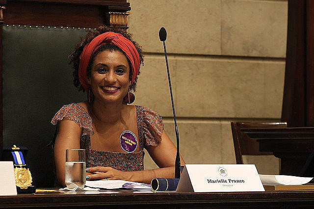 Marielle Franco was the fifth most voted-for member of council in the city's 2016 election, supported by 46,000 voters