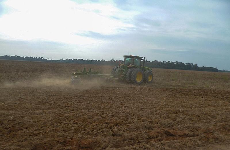 Na última década a monocultura de grãos se intensificou na região