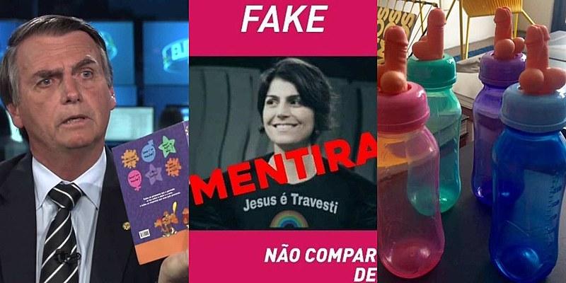 Bolsonaro com o Kit Gay, Manuela D'Ávila com uma montagem na camisa e as mamadeiras ajudaram a definir o rumo das eleições