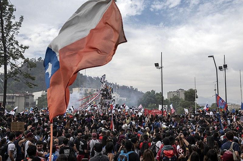 Protestos no Chile levaram milhões de pessoas às ruas em defesa de saúde, educação e uma aposentadoria mais justa