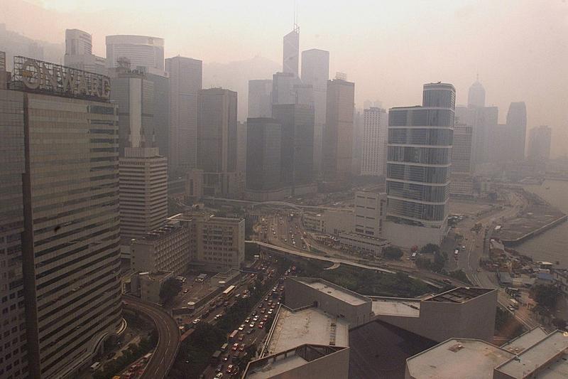 hong kong poluição