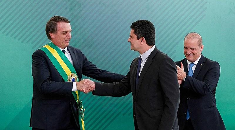 Posse do ministro da Justiça e Segurança Pública, Sérgio Moro