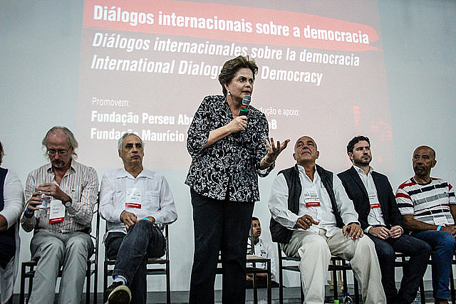Besides political leaderships from many parts of the globe, the event had the presence of president Dilma Rousseff