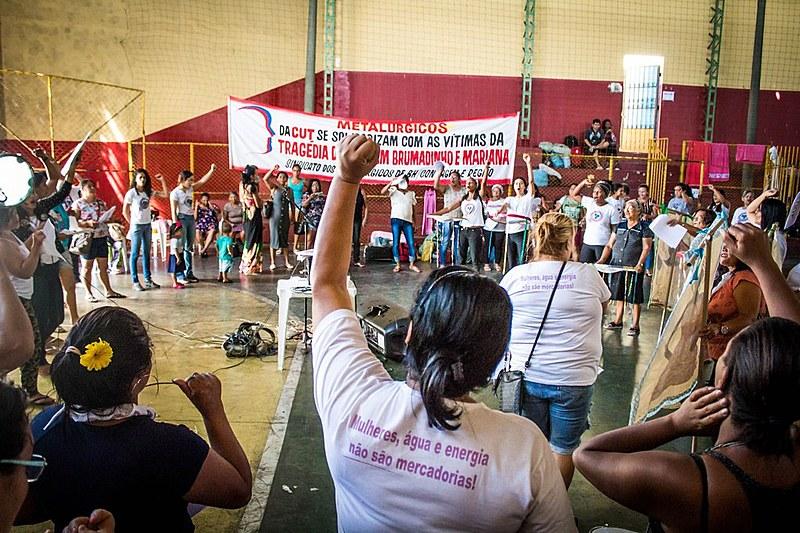 Mulheres atingidas se reúnem em Minas Gerais para criar plano de luta contra as mineradoras