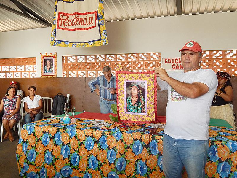 O viveiro de mudas foi batizado de Cacique Poty Guarani, uma índia que fazia parte do Movimento dos Indígenas Não Aldeados (Mina) da região