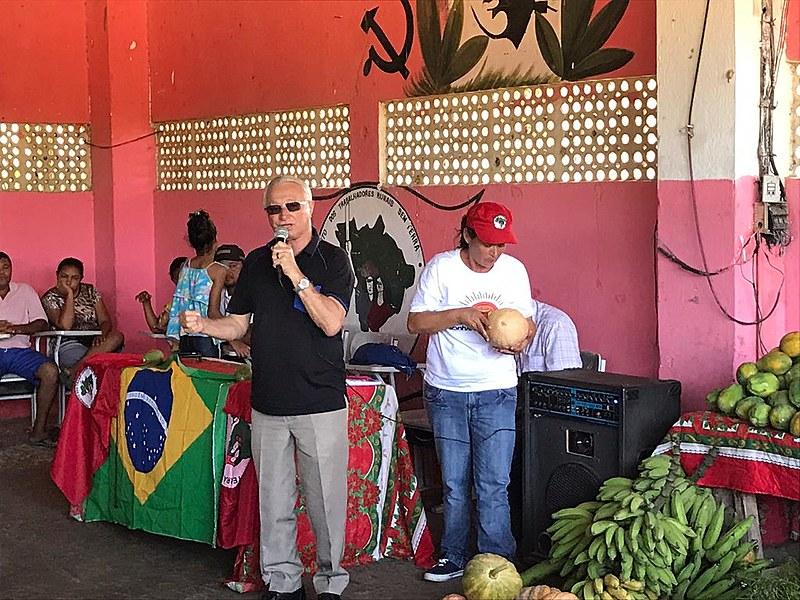 O deputado federal Frei Anastácio foi o autor do requerimento que trouxe a comissão à Paraíba.
