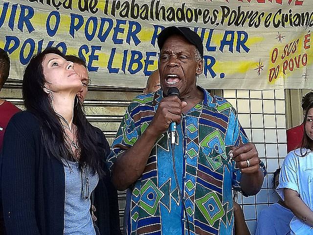 Embaixador da ONU participou de encontro na Rocinha e se reuniu com governador Pezão