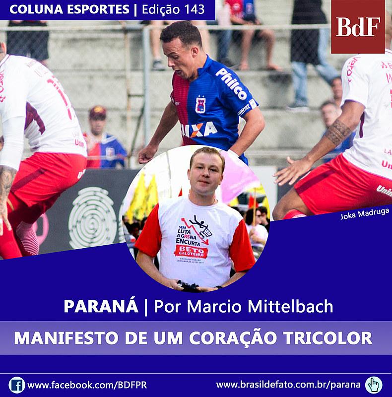 Marcio Mittelbach é colunista do Brasil de Fato Paraná