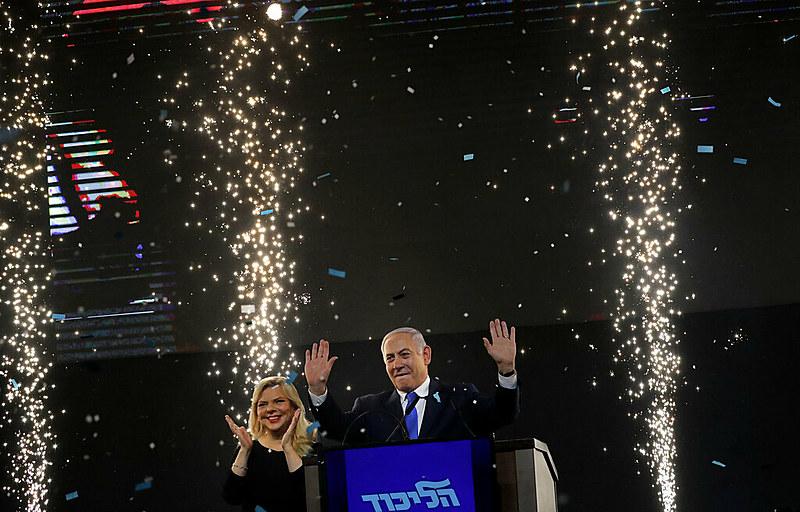 """Netanyahu agradeceu """"aos cidadãos de Israel"""" e afirmou que começará """"a formar um governo já esta noite"""""""