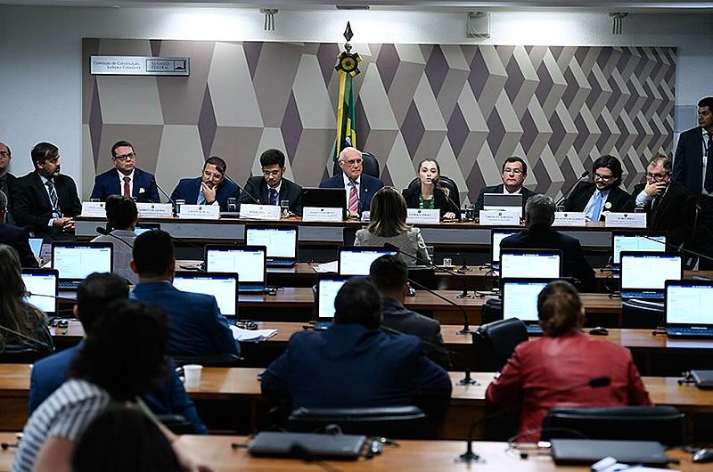 Audiência pública na CCJ do Senado sobre PLS 272/2016, que endurece a Lei Antiterrorismo