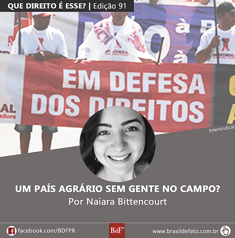 Naiara Bittencourt é colunista esportivo do Brasil de Fato PR