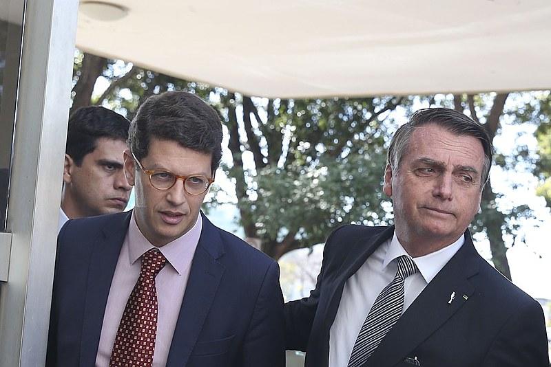 Empossado por Bolsonaro no início do ano, Ricardo Salles é hoje um dos principais destinos das críticas dirigidas ao governo
